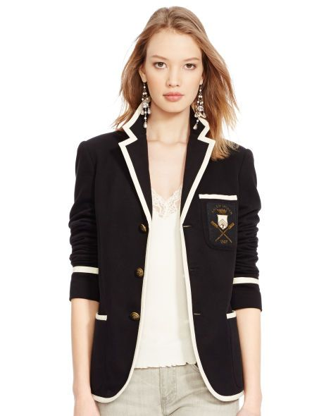 Three-Button Cricket Jacket - Polo Ralph Lauren Jackets & Vests -  RalphLauren.com