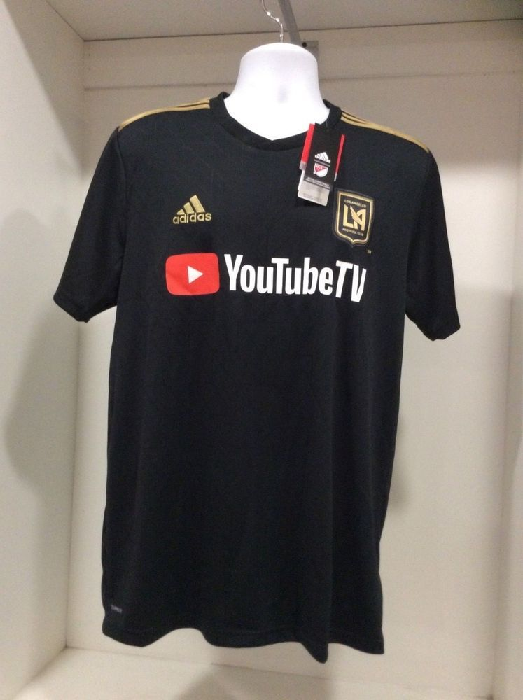 Adidas LAFC You tube Soccer Home Jersey Men Sizes (eBay Link)  5854e33cd