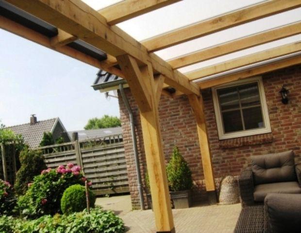 Afbeeldingsresultaat voor overkapping constructie for Garage con veranda