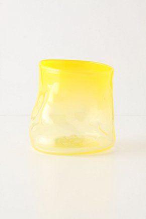 Wavering Glass, Yellow | Anthropologie.eu