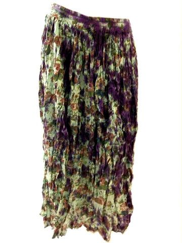 f74ad880e38 Purple floral hippie skirt  ) via