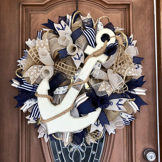 coastal beach seashell lighthouse doors amazon summer front door wreath wreaths nautical com pin house