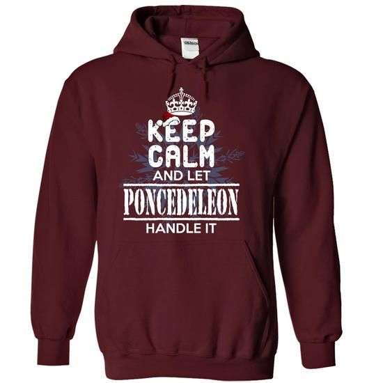 I Love A13672 PONCEDELEON  - Special for Christmas - NARI T shirts