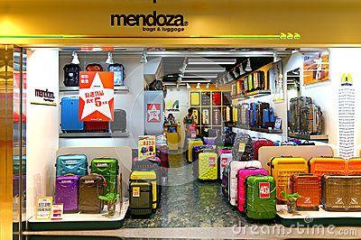Mendoza luggage store by Pindiyath100, via Dreamstime   Retail ...