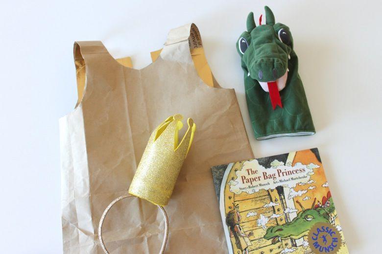 Paper Bag Princess Costume - Mama.Papa.Bubba. #paperbagprincesscostume