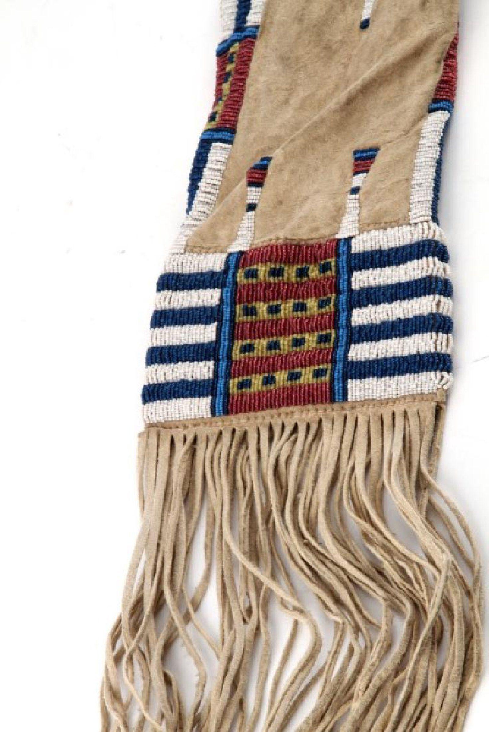 Fringed Native American Nez Perce Medicine Bag