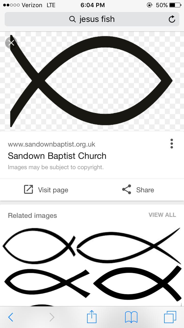 Jesus Fish Tattoo Church Images Jesus Tattoos