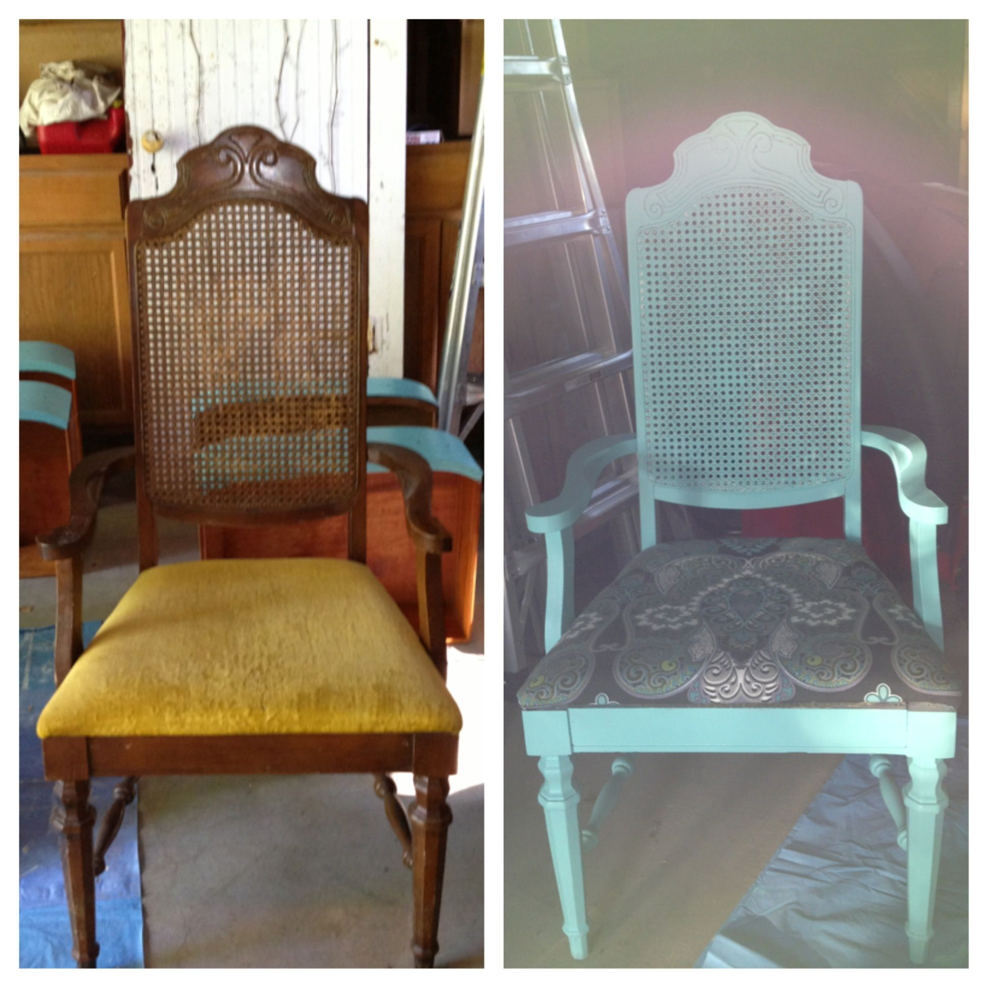 Upcycled Craigslist Chairs Furniture Furniture Makeover Home