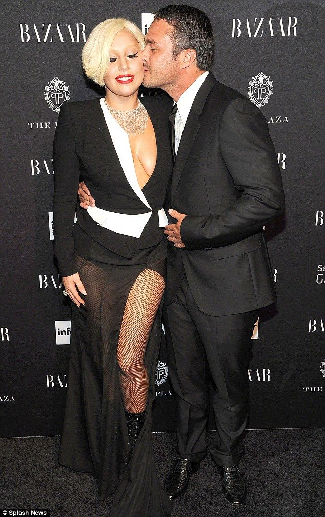 You complete me: Lady Gaga and fiance Taylor  kinney
