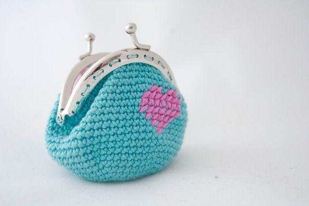Monedero Crochet Crochet Pinterest Monederos Boquilla Y Unico - Monedero-crochet-patron