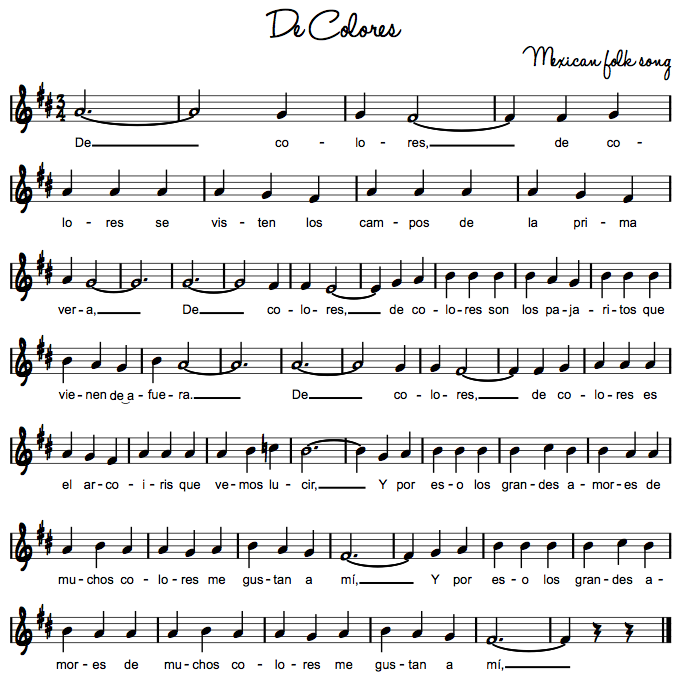 Beths Music Notes De Colores Elementary Music Classroom