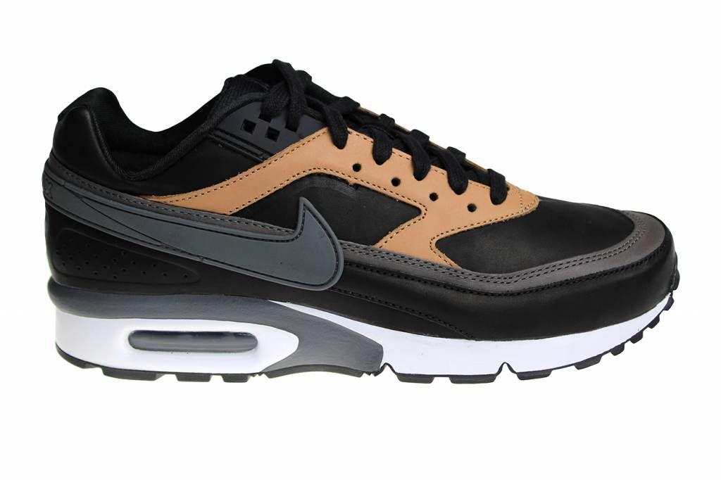 Volledig leren Nike Air Max BW Premium herenschoenen