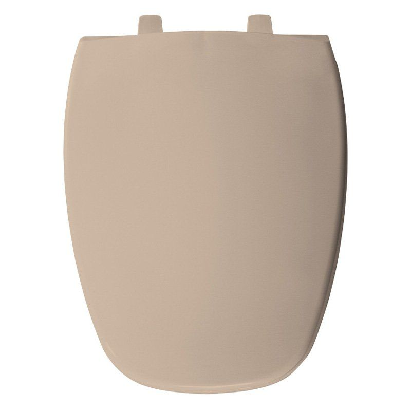 Bemis B1240200213 Round Closed Front Whisper Close Toilet Seat In