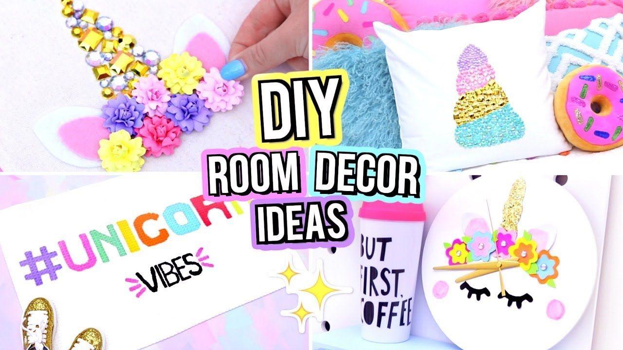 Diy Unicorn Room Decor For Teenagers Cute Diy Room Decor Ideas