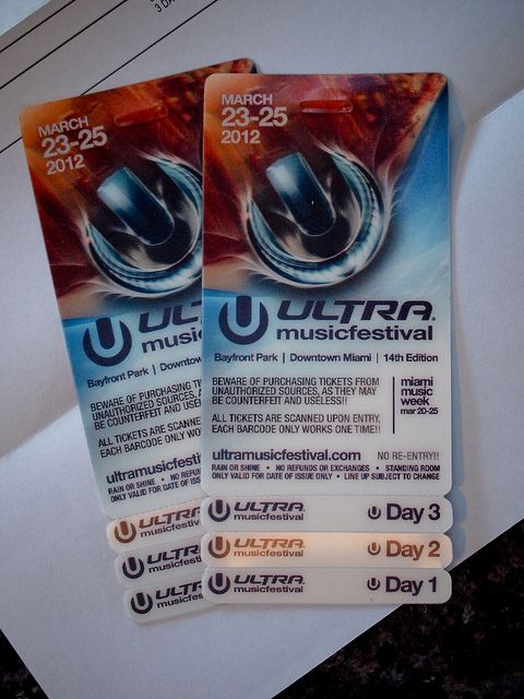 Ultra Music Festival UMF Tickets