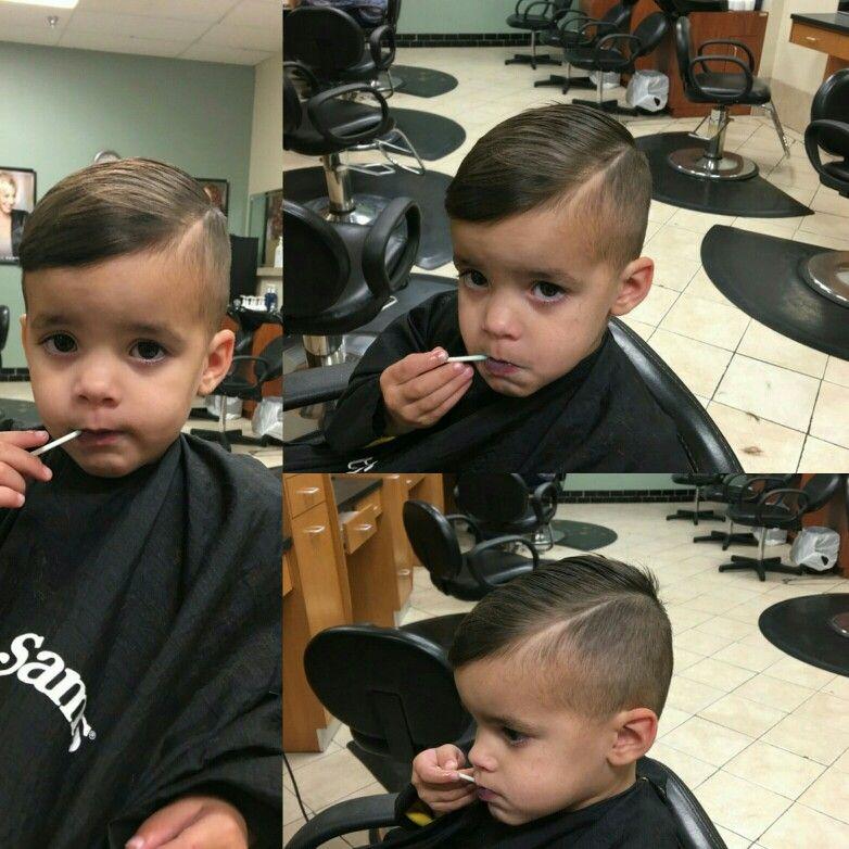What A Perfect Boyshaircut By Jessica W And What A Stylish Little Man Fantasticsams Walker La Baby Boy First Haircut Baby Haircut Baby Boy Hairstyles