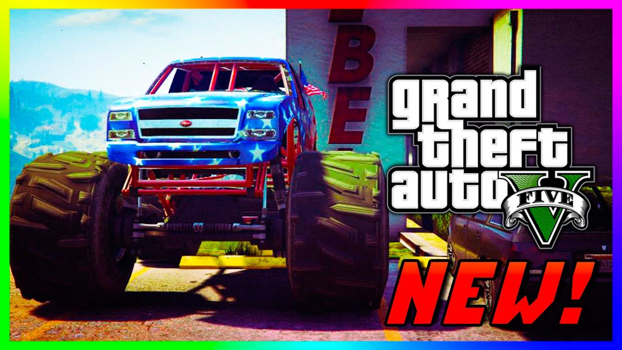 Gta  Ps Liberator Monster Truck Spawn Location In Gta  Story Mode