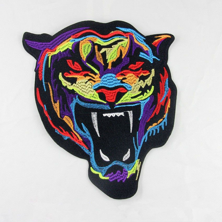 Tiger Tiger Sew on /& iron on embroidery patches