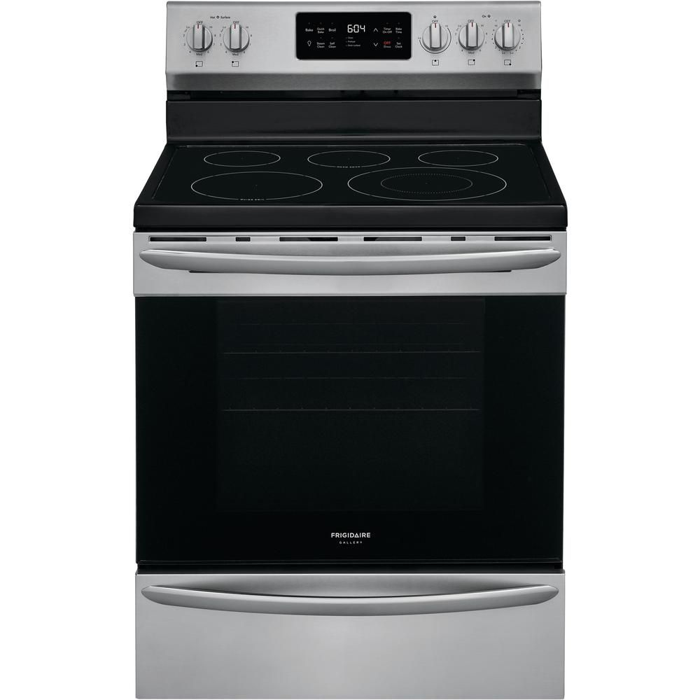 Frigidaire Gallery 30 In 5 4 Cu Ft Single Oven Electric Range With Self Cleaning Convection Oven In Stai In 2020 Frigidaire Gallery Stainless Steel Oven Single Oven