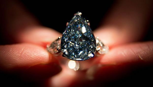 The 'Winston Blue' diamond