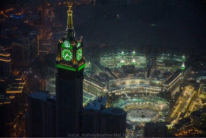 هكذا بدت مكة المكرمة في ليلة السابع والعشرين من رمضان Empire State Building Empire Empire State