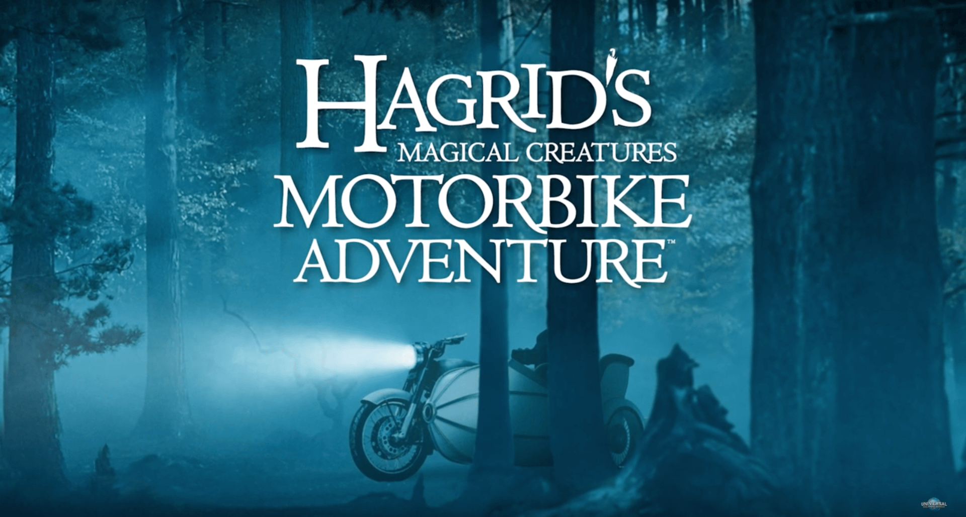 New Ride Vehicle Details Story Revealed Of Hagrid S Magical Creatures Motorbike Adventure Inside The Magic Hagrid Harry Potter Ride Magical Creatures