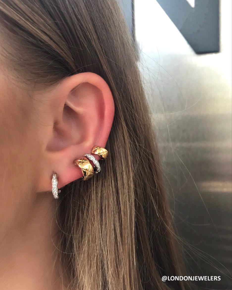 Crushing The Ear Cuff Game With Our Coco Crush Chanelofficial Londonjewelers Ear Cuff Beautiful Jewelry Earrings