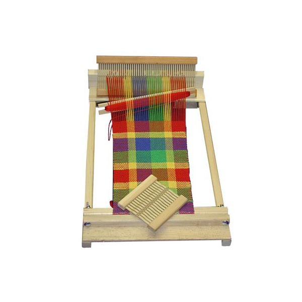 """$59.94 10"""" Rigid Heddle Weaving Loom Our Beginner's Weaving Loom is perfect for the young and the young-at-heart. An excellent loom for the..."""