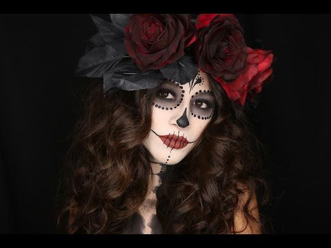 diy la calavera catrina day of the dead costume diy halloween costume ideas. Black Bedroom Furniture Sets. Home Design Ideas
