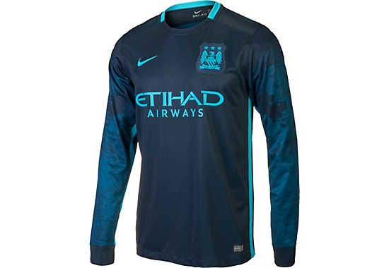 Nike Manchester City LS Away Jersey 2015 2016 | Manchester