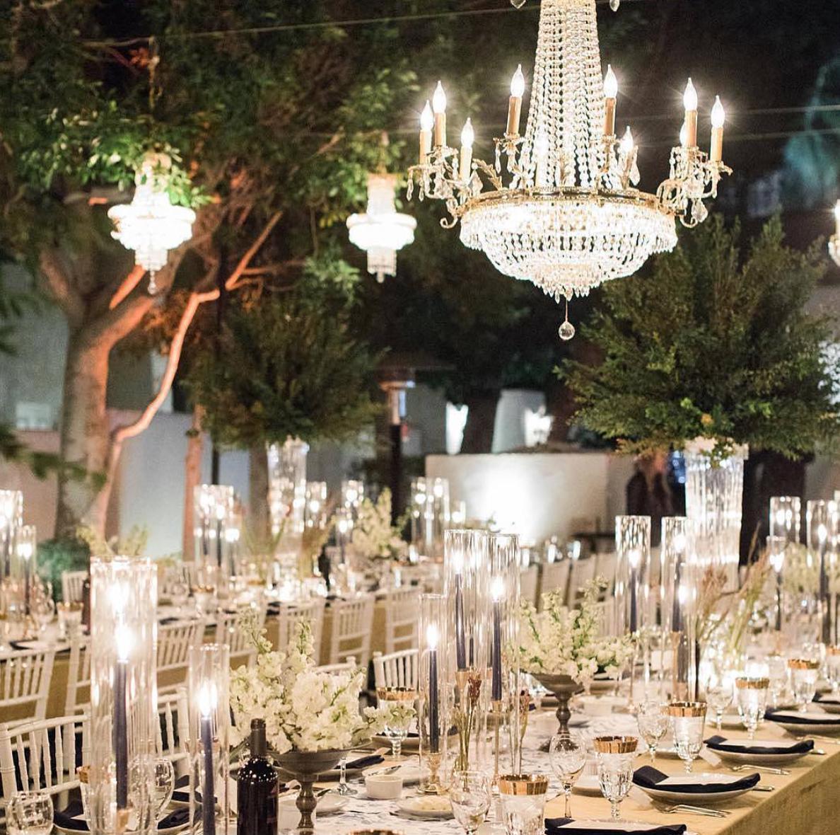 Summer Outdoor Wedding Decorations Ideas 12: Signature Party Rentals
