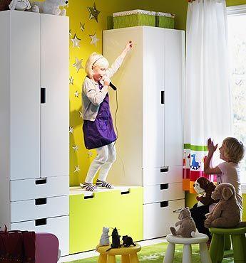 Muebles infantiles stuva de ikea storage benches - Ikea muebles infantiles ...