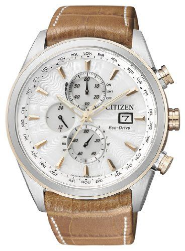 Citizen Herren-Armbanduhr XL Analog Quarz Leder AT8017-08A | Your #1 Source for Watches and Accessories