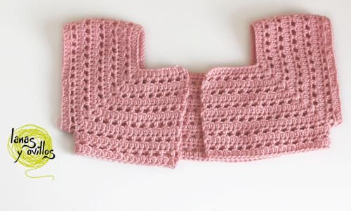 bolero a crochet patrón gratis free pattern with video tutorial ...