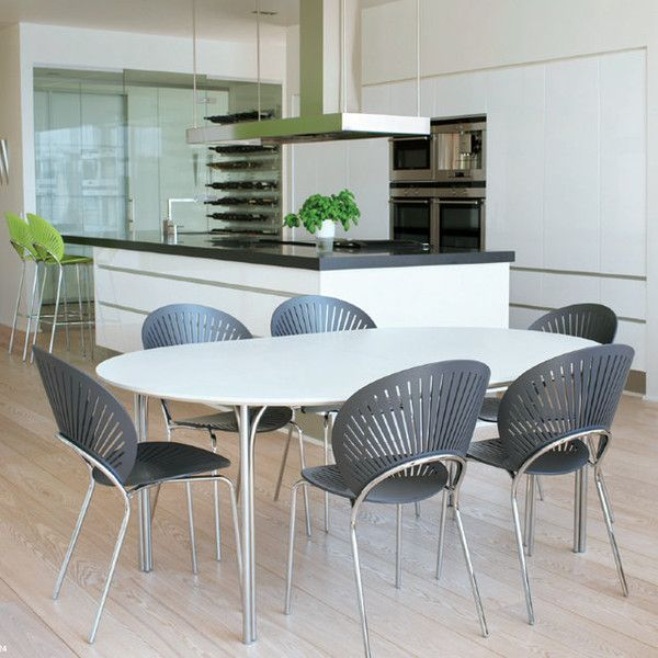 Kitchen Interior With Nanna Ditzels Trinidad Chair