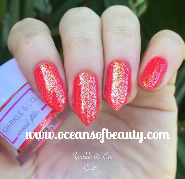 Mermaid Glitter Visit www.oceansofbeauty.com for EZ Dip Gel Powder ...