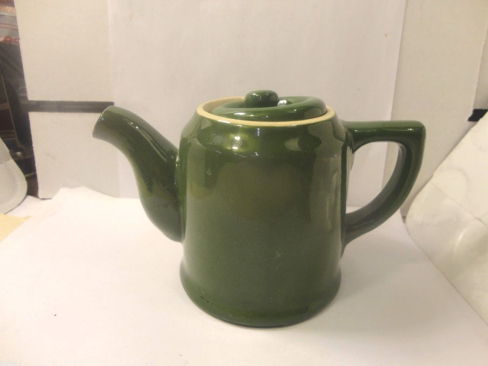 Medalta Tea Pot 4 Tall Medalta Potteries Canada Used Tea Pots Pottery Pottery Mugs