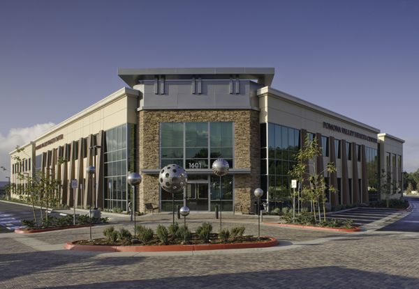 Single story office building designs claremont medical for Office building plans and designs