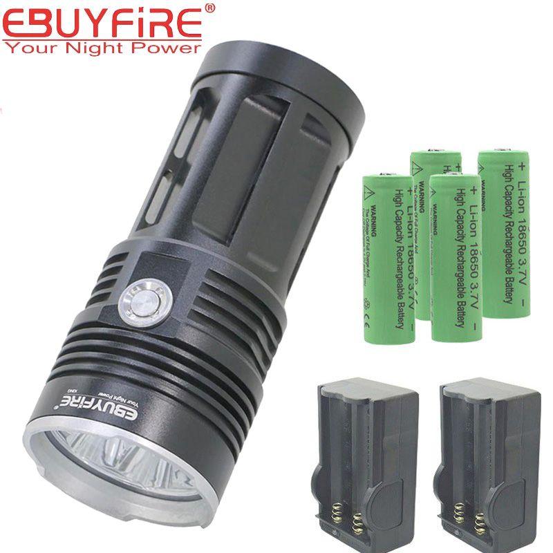28000LM CREE XM-L LED 21x T6 5Mode Super Flashlight Torch Lamp Light 26650 18650