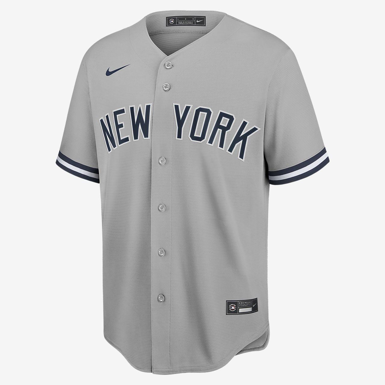 Mlb New York Yankees Aaron Judge Men S Replica Baseball Jersey Nike Com In 2020 New York Yankees Yankees New York