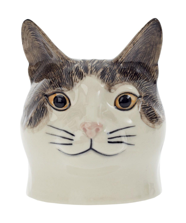 Edith The Cat Egg Cup, Quail. Cat egg, Cats, Cat love