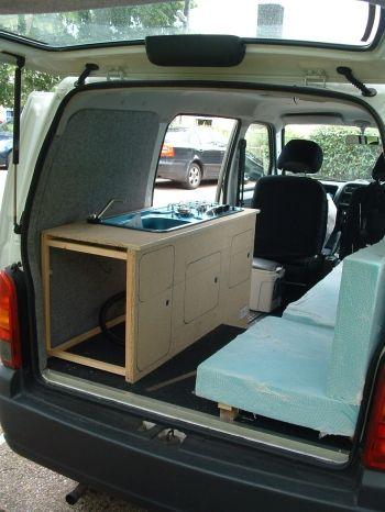 Suzuki Carry Van Rear Seat Conversion