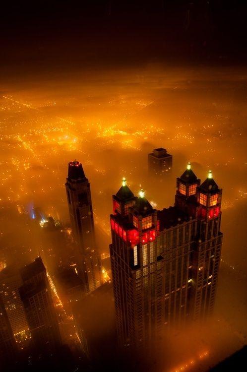 Charisma Arts Foggy Night, Chicago