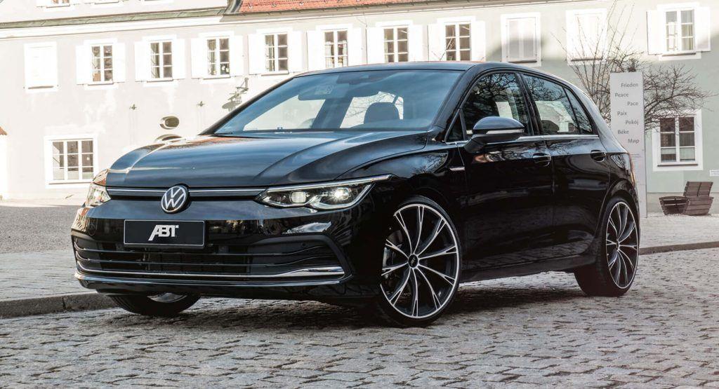 2020 Volkswagen Golf Mk8 Gets Its First Tuning Job Sort Of In 2020 Volkswagen Volkswagen Golf Living In Car