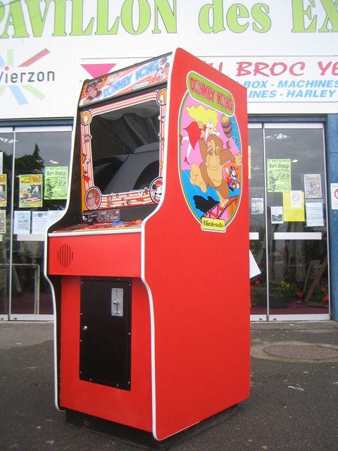 Donkey Kong Cabinet Colors Arcade Arcade Games Mini Arcade