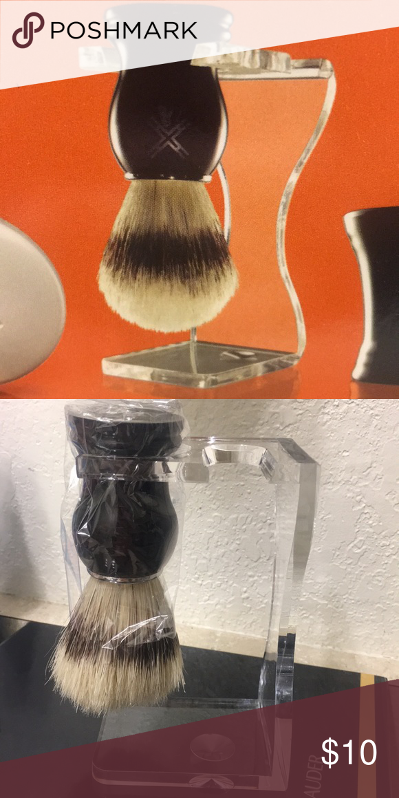 New Shave Brush and Stand Boutique Shaving brush, Things