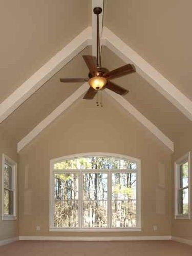 Yuck This Is How Not To Do A Vaulted Ceiling So Flat And