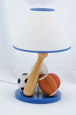 Boys Nursery Sports Lamps Great For Your Boy S