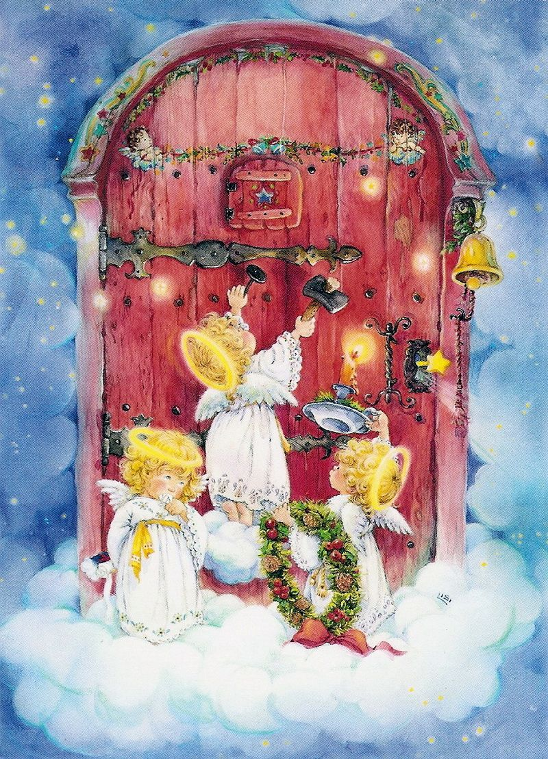 Поздравление прощенное, открытки с рождеством рисованные
