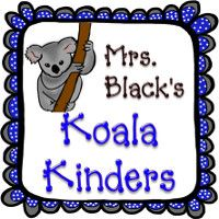 Mrs. Black's Koala Kinders has a koala and frames that I drew for her to match her favorite colors. Her color inspiration came from cute border she had purchased for her classroom.